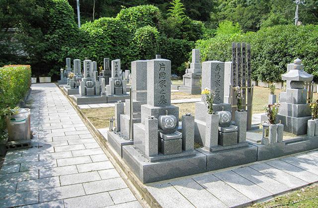 神原墓所 お墓風景